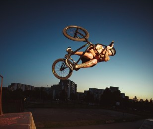 Monster Energy sponsored athletes BMX throughtout Athens, Greece for #LostinAthens Project