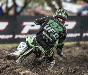 Petar Petrov at the 2016 MXGP of Argentina