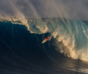 Shane Dorian attending the Big Wave World Tour in Maui, Hawaii