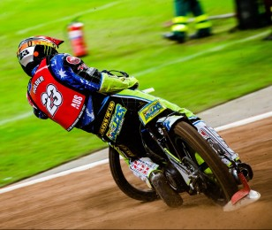 Images of 2012 Speedway world champion Chris Holder
