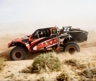 Johnny Greaves competes in the 2015 Mint 400 Off Road race.