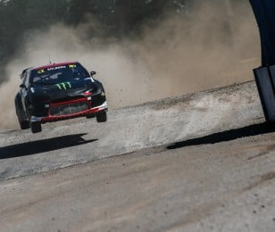 Day one / Saturday images of Petter Solberg from round one of the FIA World Rallycross Championship, Round 1
