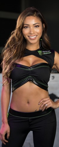 Monster Girl Photoshoot at the 2017 Nascar Monster Energy Nascar Cup Daytona 500