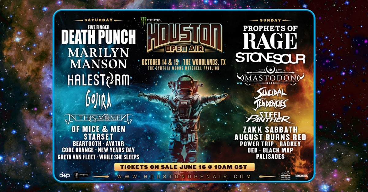 Eclipse 2017 En Houston >> A7X Closing Houston Open Air