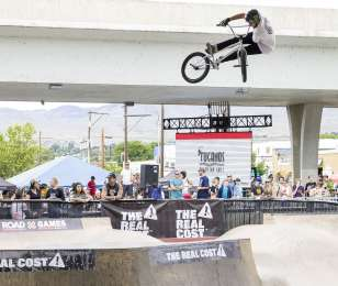 Image from the 2018 X Games Qualifiers in Boise, ID
