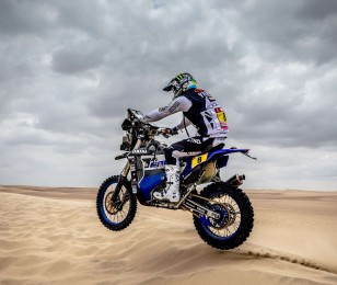 Images of Franco Caimi from the Dakar 2018 race.