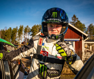 Images of Oliver Solberg at 2020 WRC Sweden