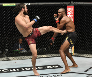 Images from UFC 251 Flash Forum on UFC Fight Island – Abu Dhabi - Sunday, July 12.