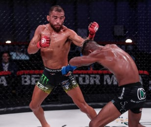 Images from Bellator 246 Archuleta vs. Mix on Saturday  September 12, 2020 at Mohegan Sun Arena in Uncasville, Connecticut.