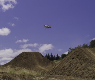 Images from Josh Hill's Real Moto segment in Josh Hill's land in Oregon.