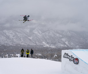 Monster athletes compete in the Ski Slopestyle at the 2019 Winter X-Games in Aspen