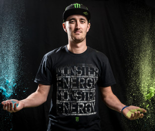 Images of Monster Energy speedway athletes from the pre-season photoshoot in Torun, Poland