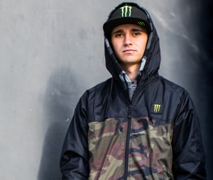 Portrait imagery of new Speedway athlete Jack Holder
